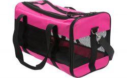 Nylonová přepravní taška RYAN 26 x 27 x 47cm do 9kg, růžová