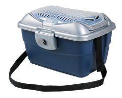 Transportní kufřík MINI CAPRI 40x22x30cm max. do 2kg TRIXIE, - modro/šedá