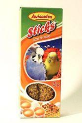 Avicentra tyčinky andulka - vejce + med 2ks
