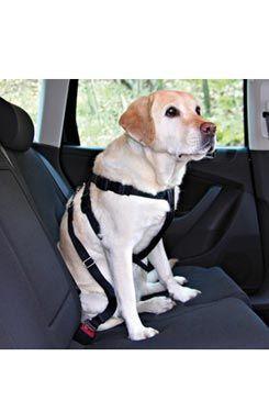 TRIXIE Postroj do auta pro psa L 70-90cm
