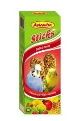 Avicentra tyčinky andulka - ovoce + med 2ks