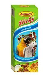 Avicentra tyčinky velký papoušek - ořech + kokos 2ks