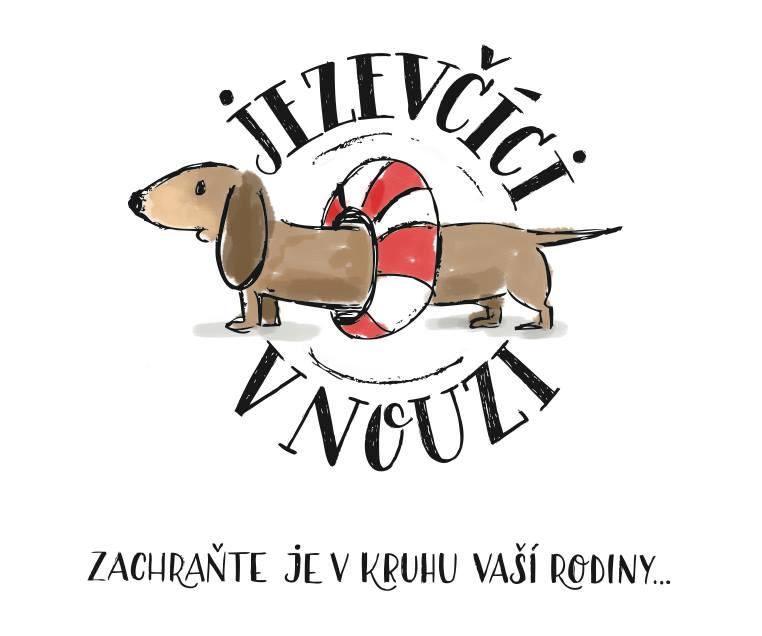 Jezevčíci v nouzi logo