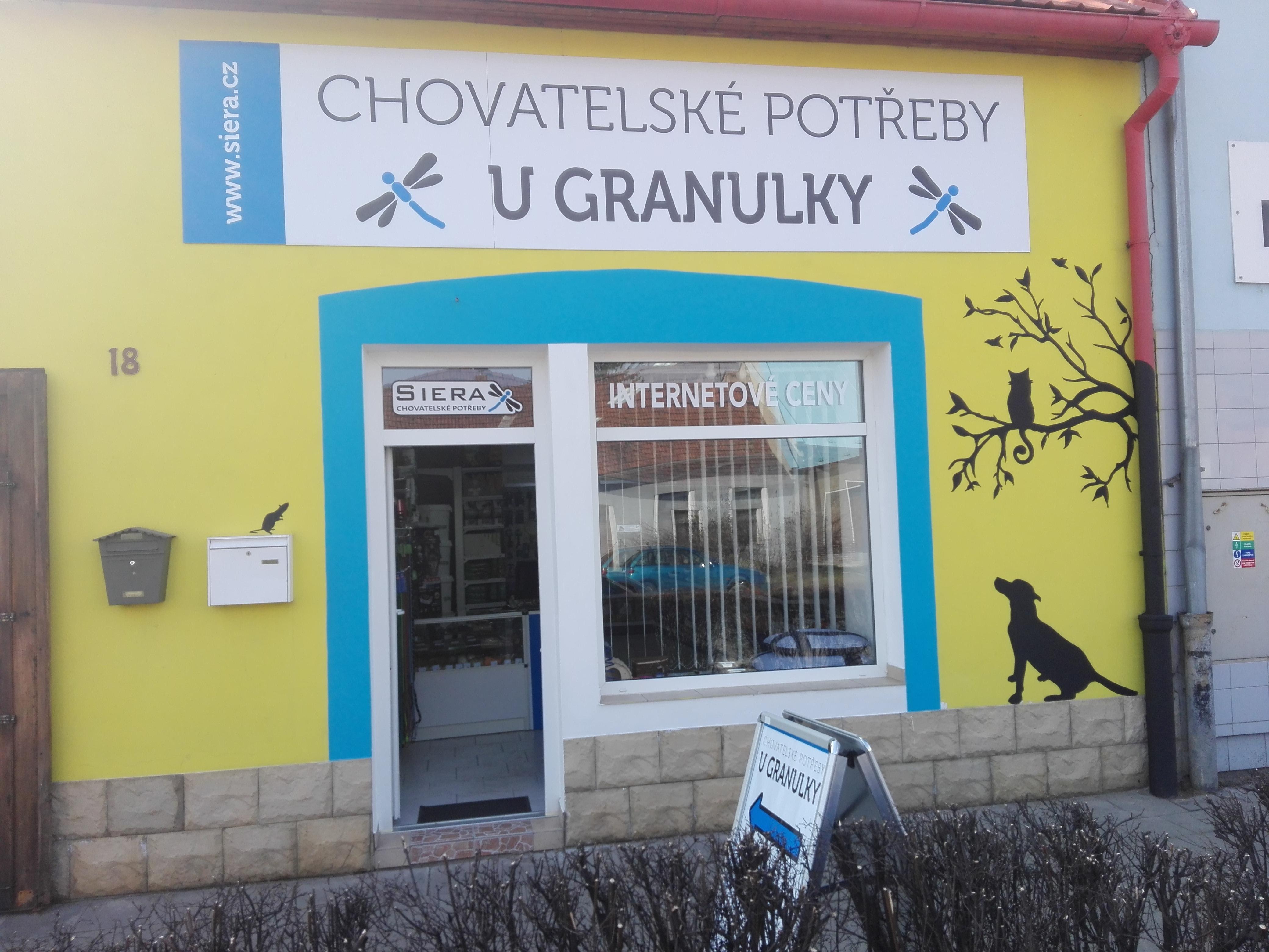Foto prodejny U Granulky